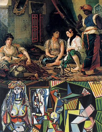 Delacroix:Picasso.jpg